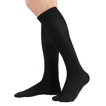 Mi-bas tabi Knitido, bas de genou-longueur deux orteil, unisexe