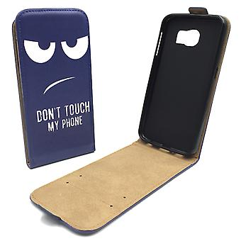 Mobile phone case pouch for mobile Samsung Galaxy S6 dont touch my phone