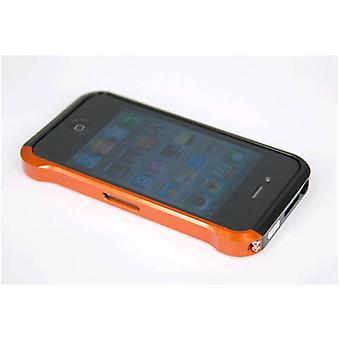 Orange Aluminium Bumper Case für Apple iPhone 4/4 s