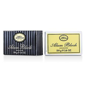 The Art Of Shaving Alum Block Natural Antiseptic Stone (For After Shaving & Minor Cuts) 104g/3.68oz