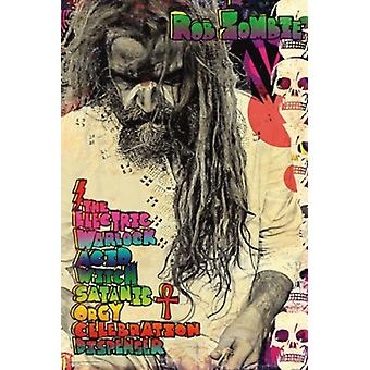 Rob Zombie Electric Warlock Poster Poster Print