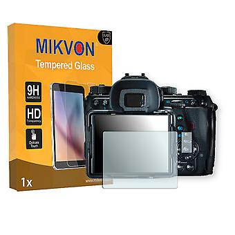 Ricoh Pentax K-1 Screen Protector - Mikvon flexible Tempered Glass 9H (Retail Package with accessories)