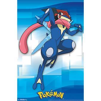 Pokemon - Ash-Greninja Poster Print