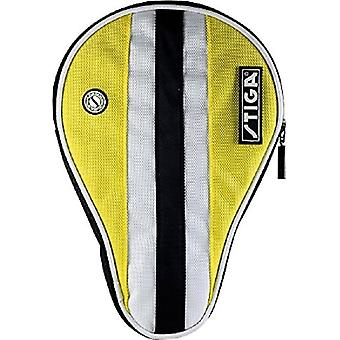 Stiga Table Tennis Bat Cover Line Yellow