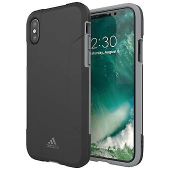 Adidas originals dual layer Har case for Apple iPhone X / XS 5.8 case grey