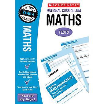 Maths Test - Year 4 by Paul Hollin - 9781407159836 Book