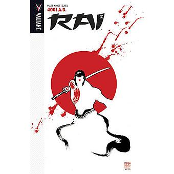Rai - Volume 4 - 4001 A.D. by Cafu - Matt Kindt - 9781682151471 Book