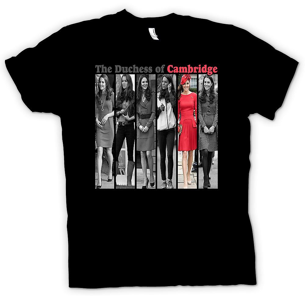 Womens T-shirt - hertiginnan av Cambridge - Kate Middleton