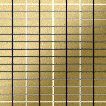 Metal mosaic Titanium ALLOY Bauhaus-Ti-GB