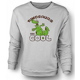 Mens Sweatshirt Dinosaurs Are Cool - Funny
