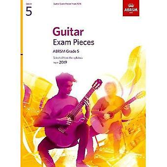 Gitarr-examen bitar från 2019, ABRSM grad 5