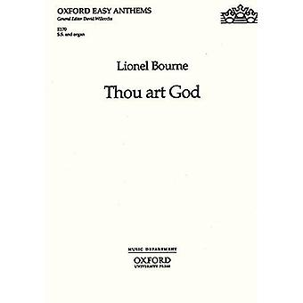 Thou Art God - SS Version by Lionel Bourne - 9780193511576 Book