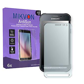 Samsung Galaxy Xcover 3 (SM-G388F) Screen Protector - Mikvon AntiSun (Retail Package with accessories)