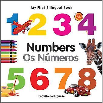 Mon premier livre bilingue - nombres (anglais-portugais)
