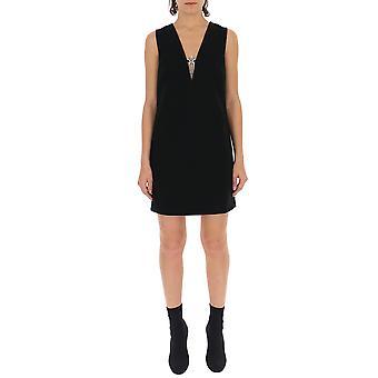 Miu Miu Black Acetate Dress