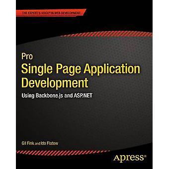Pro Einzelseite Anwendungsentwicklung mit Backbone.Js und ASP.Net von Fink & Gil