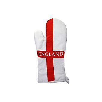 Union Jack porter gant de four drapeau Angleterre St George