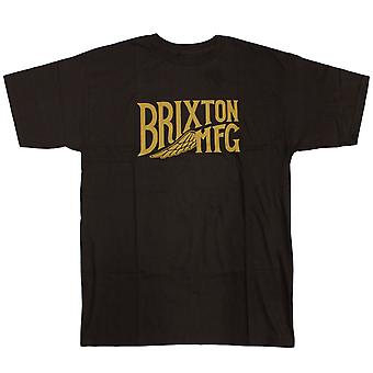 Brixton Ltd, Girder Standard Fit Men's T-Shirt Black