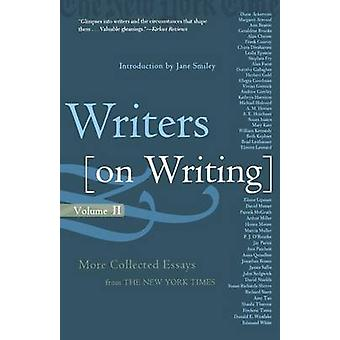 Writers on Writing - Volume Ii by Jane Smiley - 9780805075885 Book