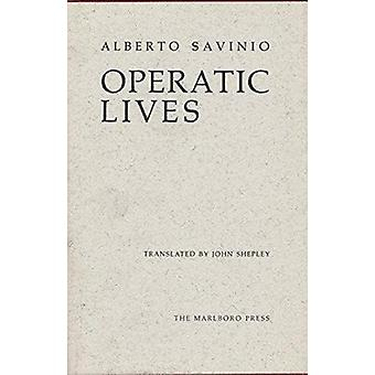 Operatic Lives by Savinio - 9780910395427 Book