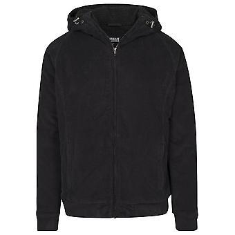 Urban Classics Men's Transitional Jacket Hooded Corduroy Jacket