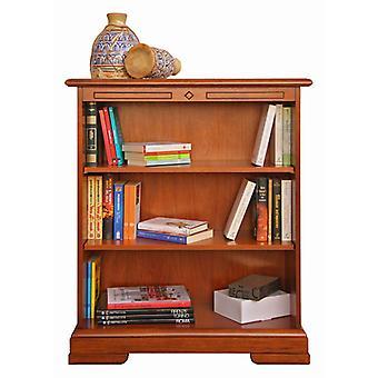 Bookcase Low adjustable wooden shelves