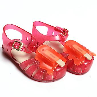 Melissa Shoes Mini Aranha Lollypop, Pink Glitter