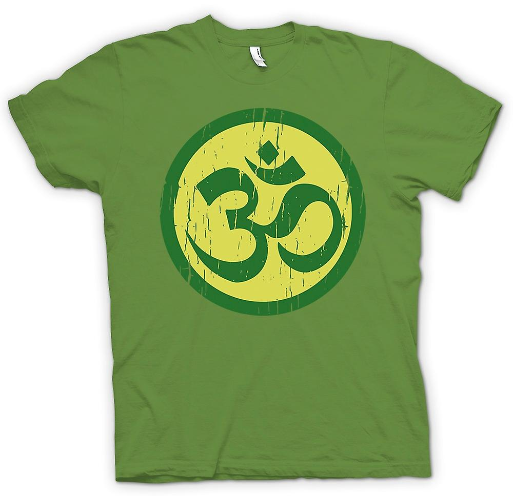 Mens t-shirt - motivo spirituale Yoga - Fitness Cool