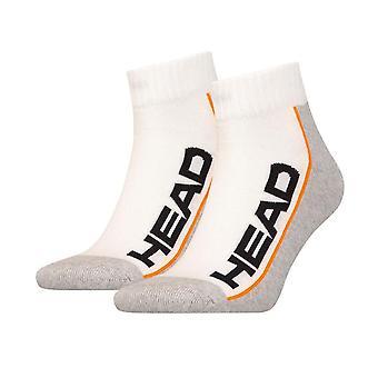 Head Socken 2 Paar weiß