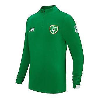 2019-2020 Ireland On Pitch Midlayer Top (Green)