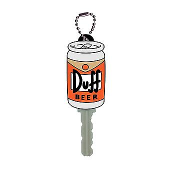 Key Cap - The Simpsons - Duff Beer Soft PVC Holder Toys New 27796