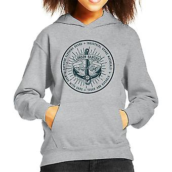 London Banter Anchor Logo Kid's Hooded Sweatshirt