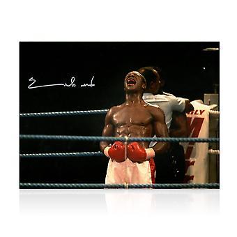 Chris Eubank signert boksing Foto: Best
