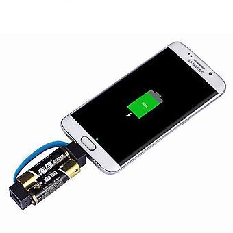 Laden Sie Ihr Handy mit Standard-AA/AAA-Batterien