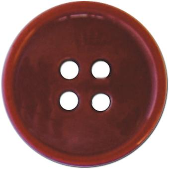 Slimline Buttons Series 1 Red 4 Hole 5 8