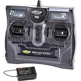 Carson Modellsport Reflex Stick II Handheld RC 2,4 GHz No. of ch