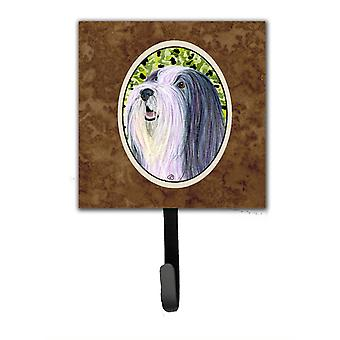 Bearded Collie Leash Holder or Key Hook