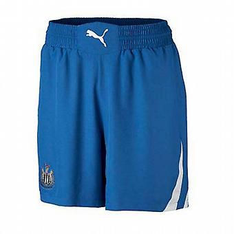 2010-11 Newcastle Puma bort Shorts (blå)
