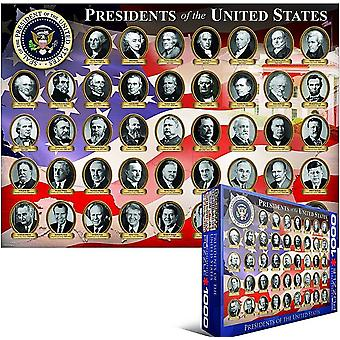 Presidents of the USA 1000 piece jigsaw puzzle 680mm x 490mm  (pz)