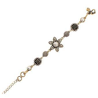 Martine Wester Stargazer Pearl & Crystal Flower Bracelet