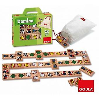 Goula Domino Farm (Toys , Boardgames , Magic)