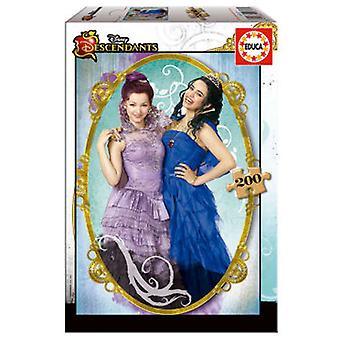 Educa Puzzle The Descendants 200 Pieces (Spielzeuge , Brettspiele , Puzzles)