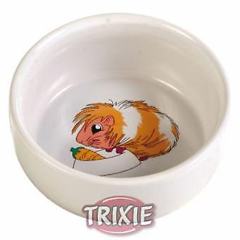 Trixie Ceramic Bowl for Rodents (Garden , Animals , Rabbits , Mangers)