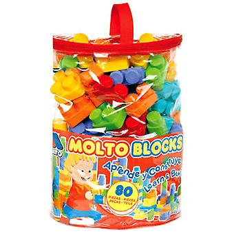 Molto Blocks Bag 80 Pcs.