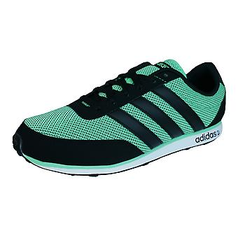 adidas V Racer Mens Running Trainers / Shoes - Green