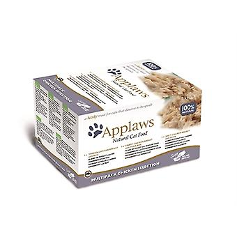 Applaws Cat Palmer Mp Chicken Auswahl 8 x 60 Gr