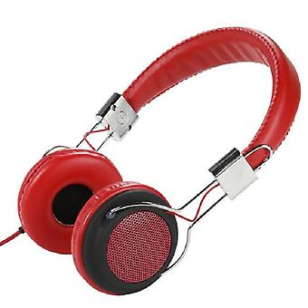 Vivanco Col400 red headband headset