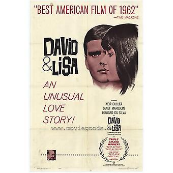 David und Lisa Movie Poster drucken (27 x 40)