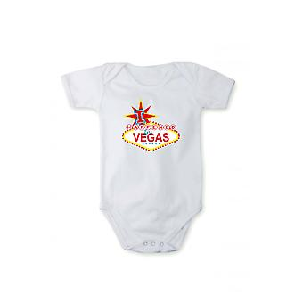 Romper with pressure baby Bodysuit I happened in Vegas
