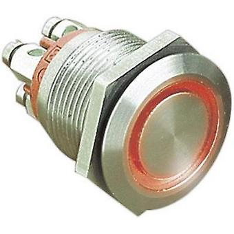 Tamper-proof pushbutton 24 Vdc 0.05 A 1 x Off/(On) Bulgin MPI002/TERM/WH IP66 momentary 1 pc(s)